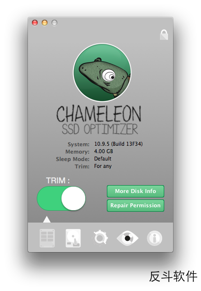 Chameleon SSD Optimizer - SSD 硬盘优化[OS X]丨www.apprcn.com 反斗软件