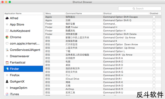 EVE - 学习使用快捷键[OS X]丨www.apprcn.com 反斗软件