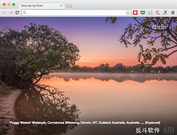 Flickr Tab - 在新标签页显示 Flickr 上的图片[Chrome 扩展]丨www.apprcn.com 反斗软件