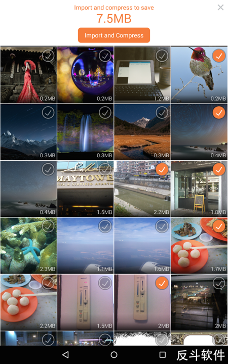 FotoFox - 图片、视频压缩工具[Android]丨www.apprcn.com 反斗软件
