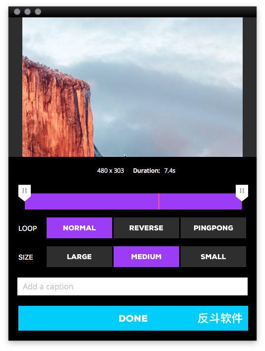 GIPHY CAPTURE - 录屏并输出为 GIF 动画图片[OS X]丨www.apprcn.com 反斗软件