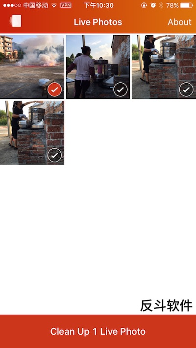 Lean - 清理你的 Live Photo[iPhone]丨反斗软件 www.apprcn.com