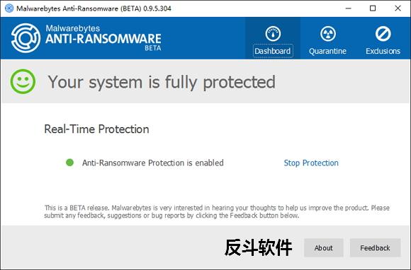 Malwarebytes Anti-Ransomware - 反文件加密勒索软件丨www.apprcn.com 反斗软件