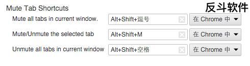 Mute Tab Shortcuts - 使用快捷键为标签页静音[Chrome 扩展]丨www.apprcn.com 反斗软件