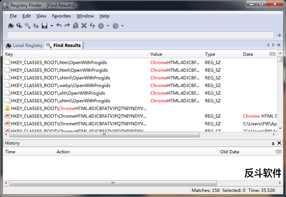 Registry Finder - 快速跳转到注册表条目位置丨反斗软件 www.apprcn.com
