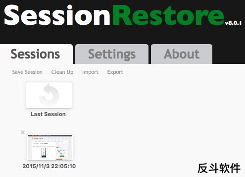 SessionRestore - 恢复 Safari 浏览进程[Safari 扩展]丨www.apprcn.com 反斗软件