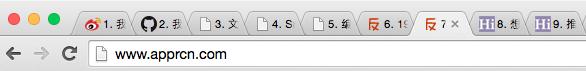 Tab Number - 给每个标签添加序号[Chrome 扩展]丨www.apprcn.com 反斗软件