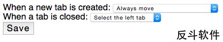 Tab to the next - 在当前标签页旁新建标签页[Chrome 扩展]丨www.apprcn.com 反斗软件