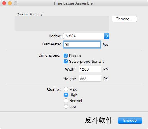 Time Lapse Assembler - 延时摄影视频制作工具[OS X]丨www.apprcn.com 反斗软件
