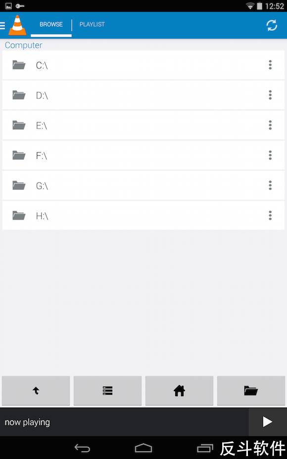 VLC Mobile Remote - 即使躺在床上也能操控电脑视频播放[Android]丨www.apprcn.com 反斗软件