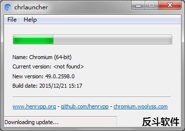 chrlauncher - 小巧的 Chromium 自动更新工具丨反斗软件